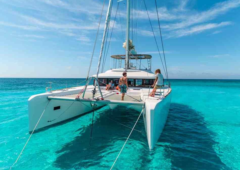 The caribbean the british virgin islands bvi lagoon for By the cabin catamaran charters